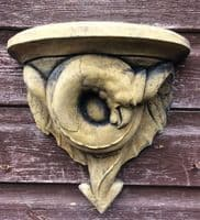 Pair of Dragon corbel wall plaques